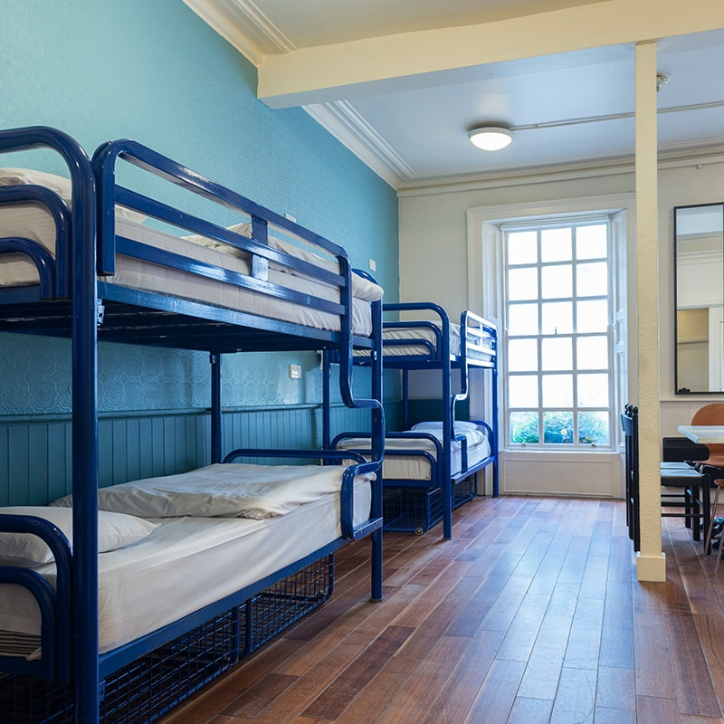 Double ensuite room at Times Hostels College Street